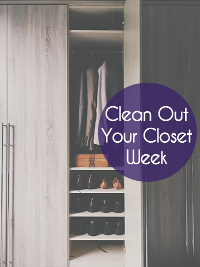 Clean Out Your Closet Week