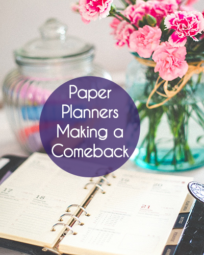 Paper Planners Making a Comeback